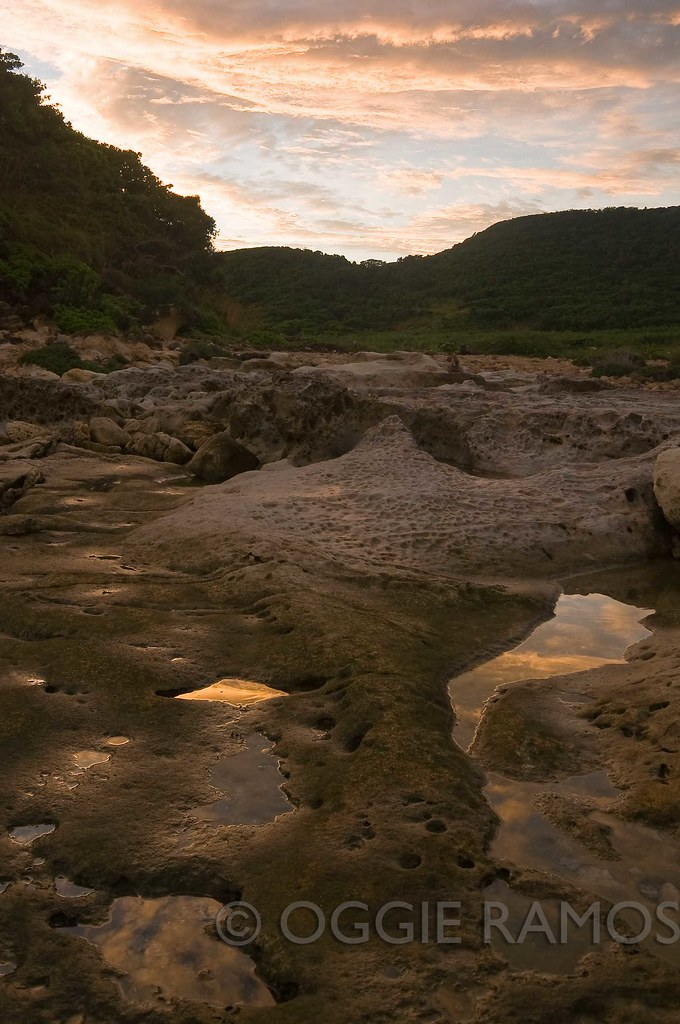 Ilocos Norte - Rock Pools Reflections