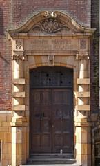 Moseley Baths Men's Second Class Entrance (ahisgett) Tags: building public birmingham baths grade2 listed balsallheath gradeii moseleyroad