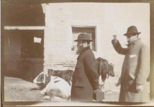 Édouard Vuillard y Ker-Xavier Roussel en Toledo en febrero de 1901. Fotografía del príncipe de Rumanía Emmanuel Bibesco. Museo D´Orsay.