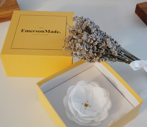 Emerson Made Rose Hair Clip