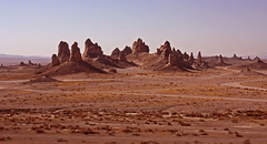 The Trona Pinnacles (On Location in Los Angeles) Tags: california movie ancient desert location mojave hollywood deathvalley geography filming nationalmonument tufaspires ridgecrest searles drylake pleistocene tronapinnacles