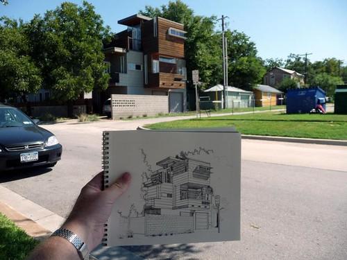 sketching in austin
