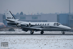 N60LW - 550-1129 - Private - Cessna 550B Citation Bravo - Luton - 100111 - Steven Gray - IMG_6140