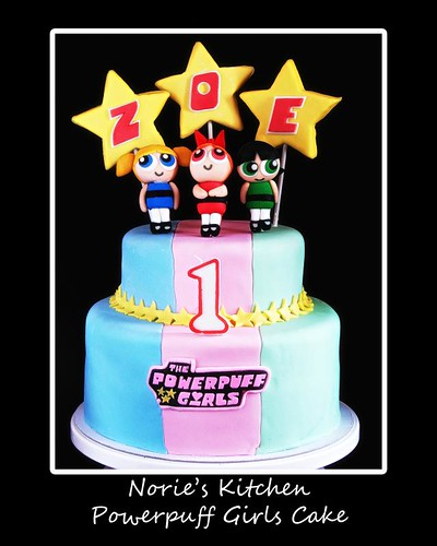 Norie's Kitchen - Powerpuff Girls Themed Cake