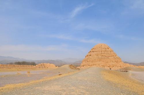 銀川 西夏王陵 / Tombs of Xixia Dynasty, Yinchuan