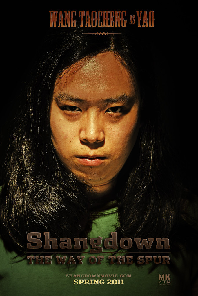SHANGDOWN: THE WAY OF THE SPUR - Character Poster Yao