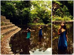 Vegan Lady of the Hidden Lake (Felix Antoima) Tags: trees naturaleza verde green photomanipulation puerto arbol warm natural felix venezuela surreal bella fotografia hermosa calida guayana llovizna ordaz extendida antoima