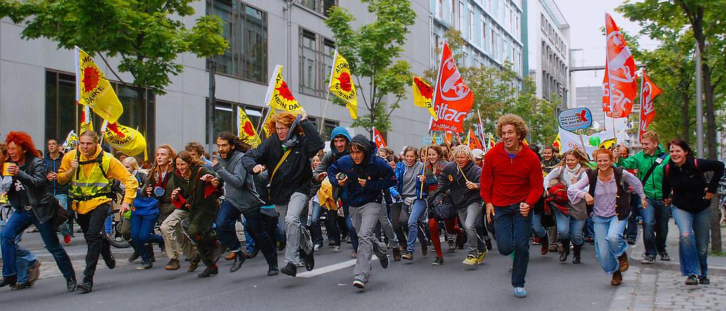 Jugendbewegung.