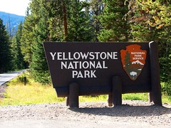 Welcome to the world's first National park, lets go in.... (WorldofArun) Tags: bear nature nikon montana eagle wildlife reserve biosphere september alpine wetlands planet vegetation yellowstonenationalpark yellowstone wyoming elk bison sagebrush preservation 2010 ecosystem pineforest spruceforest 18200mm supervolcano firforest d40x greateryellowstoneecosystem ecologicalzone worldofarun arunyenumula freeroamingwildlife