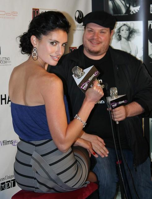 Samantha Gutstadt, Derek Gilroy, RealTVfilms Social Media Lounge TIFF 2010