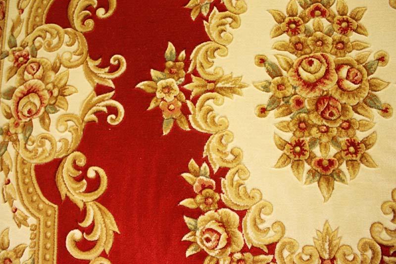 高密剪花高级手工地毯/欧式花纹