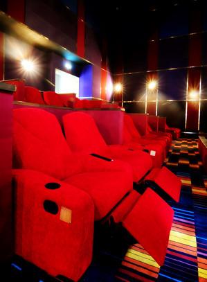 Fully reclining seats at Newport Ultra Cinema in Resorts World Hotel - Movie Reviews - PinayReviewer.com