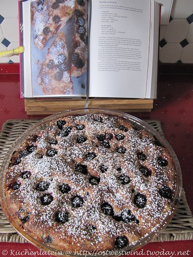 Nigel Slater's blackberry foccacia