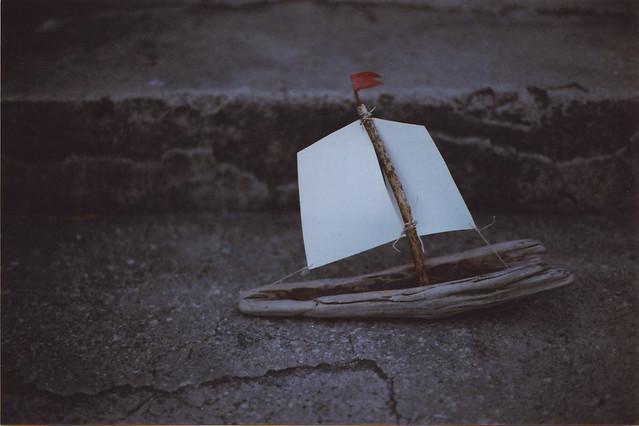 i made a boat.