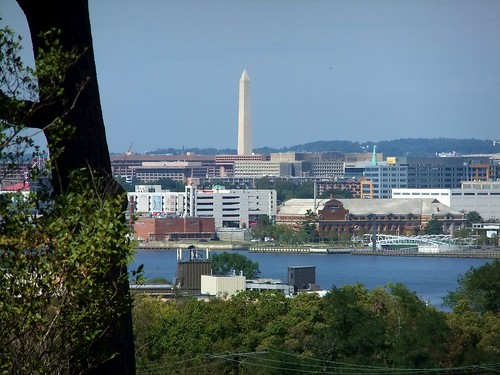 Washington Monument, from the Frederick Douglass House Steps