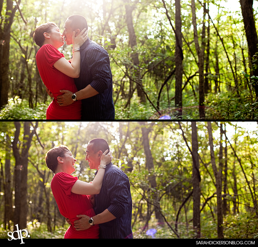 Watkins Mill State Park engagement photographer