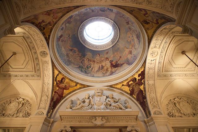 Hôtel de Ville de Paris - En haut des Grands Escaliers