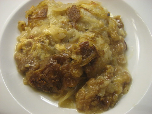 Onion panade