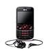 LG GW300 Black Red with Ear Piece