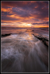 Going With The Flow (greyridge) Tags: longexposure seascape sunrise northumberland cresswell sigma1020mm eos1000d