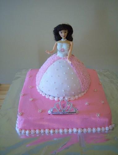 Barbie Princess Cake
