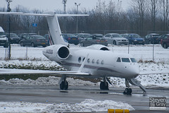 N425QS - 4010 - Netjets - Gulfstream G450 - Luton - 100112 - Steven Gray - IMG_6157