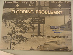 Flooding problems (front cover of Corps of Engineers publication about Hawaii)