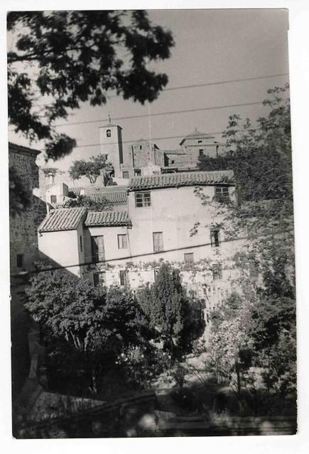 Iglesia de San Lucas hacia 1970. Colección Luis Alba. Ayuntamiento de Toledo