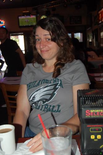 My Eagle Fan Wife
