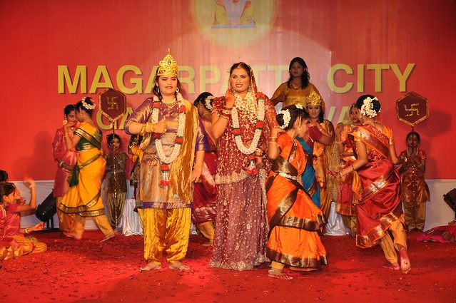 Mythology at the fore via Geet Ramayana at the Magarpatta City Ganesh Festival
