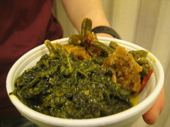 curried green kale