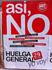 Huelga General – General Strike in Spain
