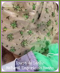 TOUCA DE BANHO BOUQUET (Natural Emporio do Banho Soaps,since 2004) Tags: soap artesanal kit sabonete touca kitbanho toucadebanho bathitens bathtubandshowercap