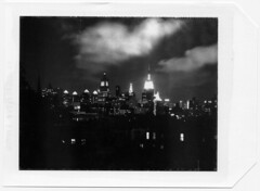 Rooftop View (gothambill) Tags: 4x5 coated 1minuteexposure polaroidtype52 graflexslr kodakektar190mm