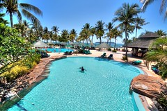 "Poolside (p@ragon) Tags: shangrila malaysia borneo hotels resorts spa sabah tanjung ""kota kinabalu"" ""shangrila paragon2010 aru"""