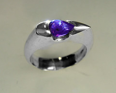 "Ian's purple sapphire ring • <a style=""font-size:0.8em;"" href=""http://www.flickr.com/photos/17353193@N08/5018274903/"" target=""_blank"">View on Flickr</a>"