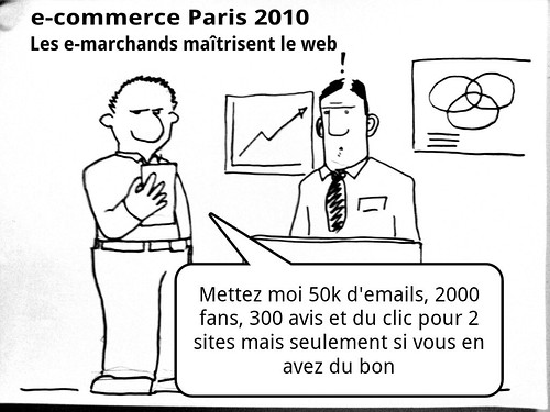 Tout le commerce devient e-commerce: picture salon ecommerce paris by danielbroche
