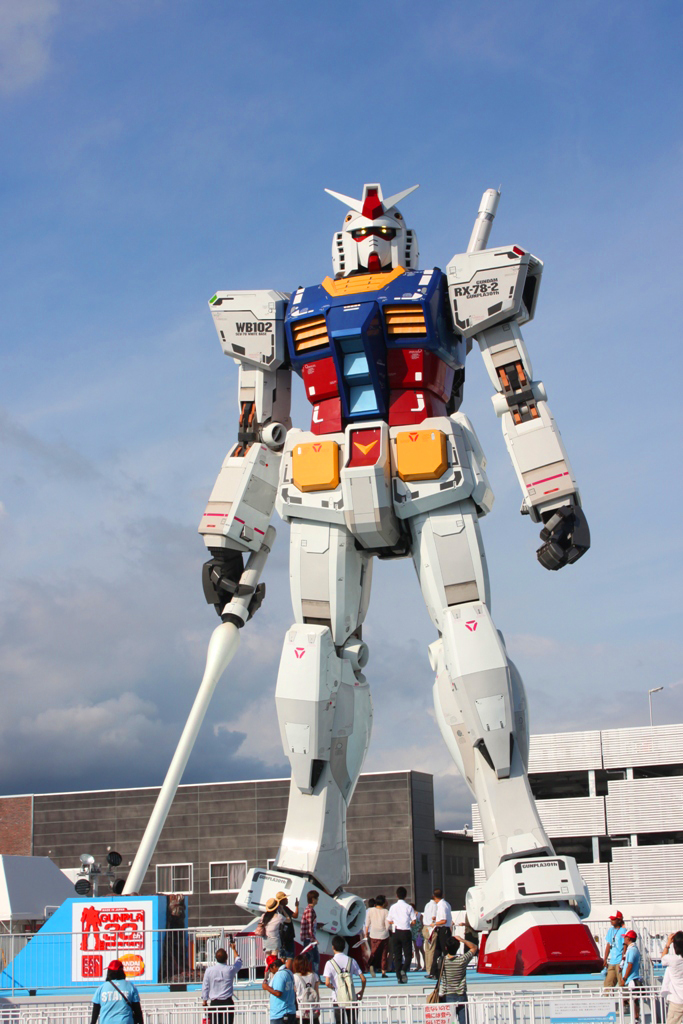 Real Size GUNDAM moved to Shizuoka (3)