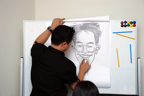 Caricature Workshop for Spire Research & Consulting - 39