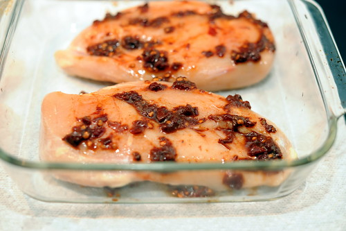 Spiced Chipotle Honey Chicken Breasts with Sweet Potatoes | Sassy ...