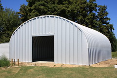 Steel Building completed