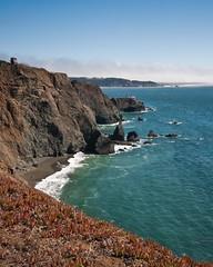 Yonder (taylorkoa22) Tags: sanfrancisco california lighthouse water rock nikon pointbonita goldengatenationalrecreationalarea marcgutierrez