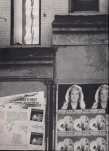Heartbreakers Ad on Wall, NYC (David Finn)