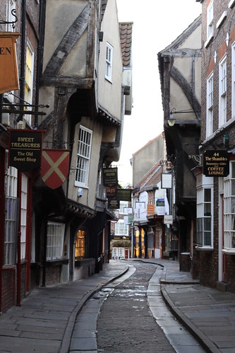 The Shambles, York: 06:30 Saturday morning
