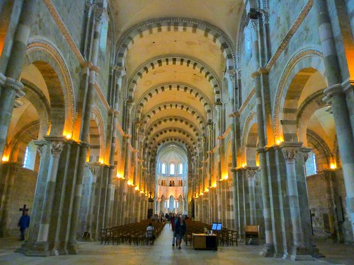 The cathedral at Vézelay, a Unesco-listed site. Photo: Benoit Theodore