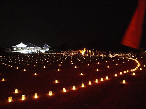 飛鳥光の回廊2010@明日香村-11