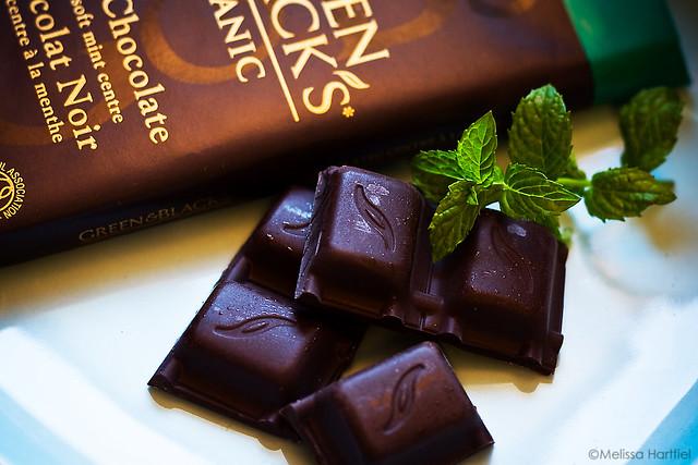 Green & Blacks Mint Chocolate Bar