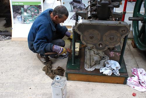Préparation du moteur Mustad