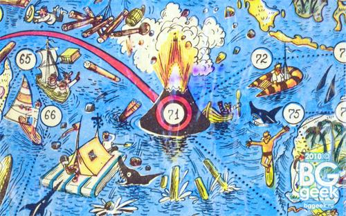 настольная игра Кругосветное путешествие из журнала Веселые картинки