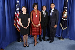 El canciller Almagro con el presidente Obama (U.S. Embassy Montevideo) Tags: uruguay obama almagro onu unga